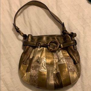Coach Gold Mini Bag